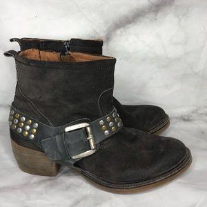 💥 Josef Seibel Toni brown suede boots 39